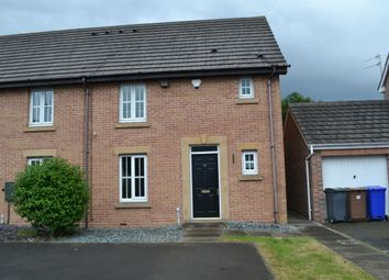 Thumbnail 3 bed town house to rent in Steeple Way, Stoke, Stoke-On-Trent