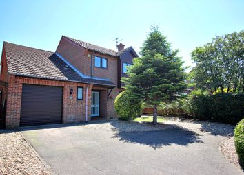 Thumbnail 4 bed detached house for sale in Dukes Drive, Halesworth