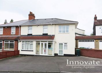 Thumbnail 5 bed semi-detached house for sale in Blackthorne Road, Bearwood, Smethwick