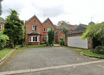 Thumbnail 5 bedroom detached house for sale in New Hall Road, Broughton Park, Salford 7