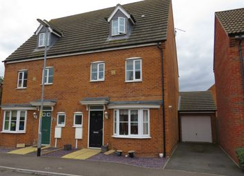Thumbnail 4 bedroom semi-detached house for sale in Darbyshire Close, Deeping St. James, Peterborough