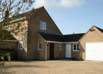 Thumbnail 3 bed detached house to rent in Tallington Road Barholm, Stamford