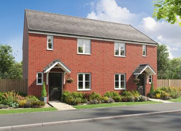 """Thumbnail 3 bedroom semi-detached house for sale in """"The Danbury"""" at The Wood, Longton, Stoke-On-Trent"""