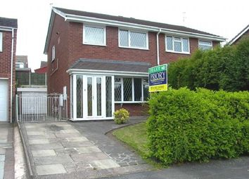 Thumbnail 3 bed semi-detached house to rent in Farnham Drive, Brown Lees, Stoke-On-Trent