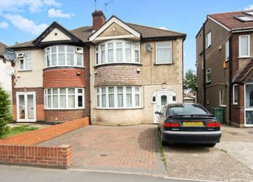 Thumbnail 3 bedroom semi-detached house for sale in Karoline Gardens, Western Avenue, Greenford