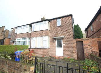 Thumbnail 4 bed semi-detached house to rent in Ladybarn Lane, Fallowfield