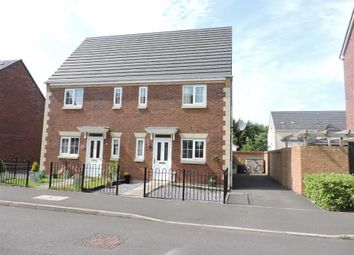 Thumbnail 3 bed town house for sale in Moorland Green, Gorseinon, Swansea