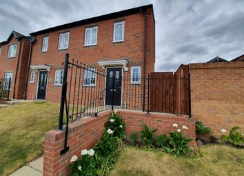Thumbnail 2 bed semi-detached house for sale in Pastures Bridge, Doncaster Road, Mexborough