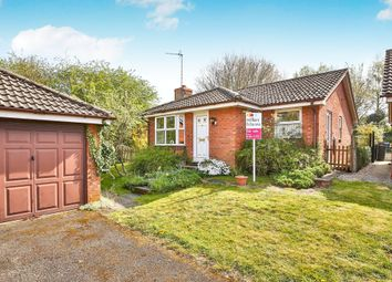 Thumbnail 2 bedroom detached bungalow for sale in Church View, Marham, King's Lynn