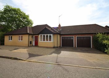 Thumbnail 3 bed detached bungalow for sale in Blackthorn Way, Poringland, Norwich