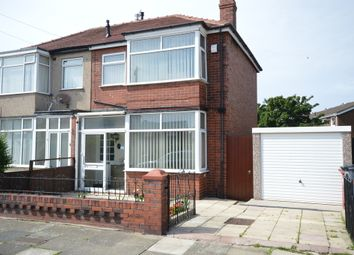 Thumbnail 3 bed semi-detached house for sale in Longway, Blackpool