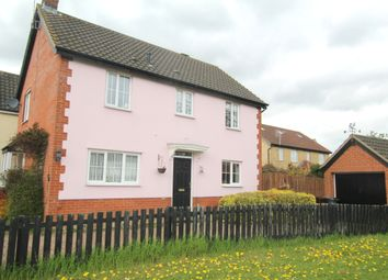Thumbnail 3 bed detached house for sale in Cleves Road, Haverhill