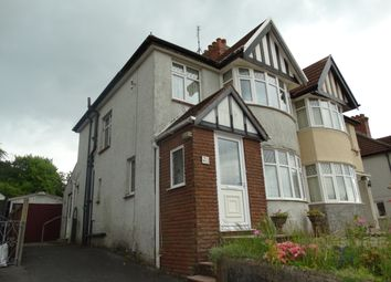 Thumbnail 3 bed semi-detached house to rent in Glan Yr Afon Road, Sketty, Swansea