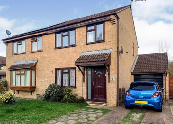 Thumbnail 3 bed semi-detached house for sale in Orchid Close, Tiverton