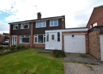 Thumbnail 3 bed semi-detached house for sale in Cullen Close, Bromborough, Wirral