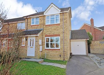 Thumbnail 4 bed end terrace house for sale in Britannia Gardens, Hedge End, Southampton
