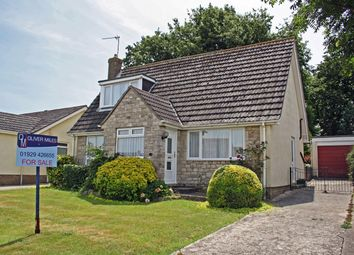 Thumbnail 3 bed detached bungalow for sale in D'urberville Drive, D'urberville Drive, Swanage