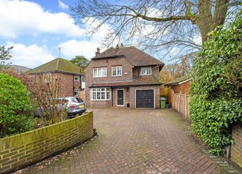 Thumbnail 4 bed detached house to rent in Brooklands Road, Weybridge