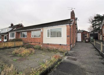 Thumbnail 2 bed semi-detached bungalow for sale in Alderley Drive, Bredbury, Stockport