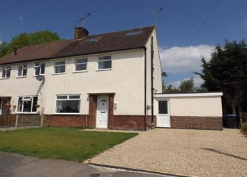 Thumbnail 4 bed semi-detached house for sale in Maino Crescent, Lutterworth, Leicestershire