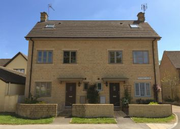 Thumbnail 3 bed semi-detached house to rent in Stow Road, Moreton-In-Marsh