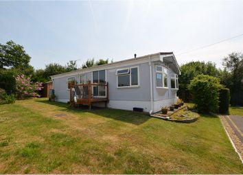Thumbnail 3 bed property for sale in Dunton Mobile Home Park, Brentwood