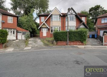 Thumbnail 3 bed semi-detached house to rent in Norwood Avenue, Salford