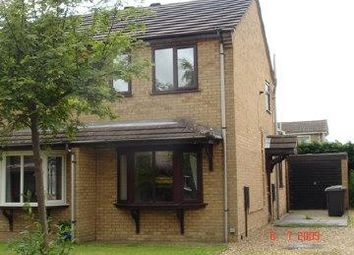 Thumbnail 2 bed semi-detached house to rent in Roxholm Close, Ruskington