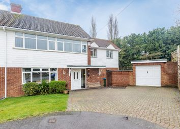 Thumbnail 4 bed semi-detached house for sale in Copseside, Hartley, Longfield