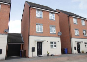 Thumbnail 4 bed detached house for sale in Jeque Place, Burton-On-Trent, Staffordshire