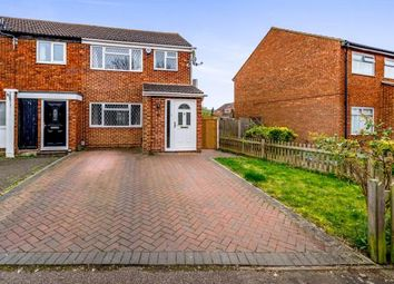 Thumbnail 3 bed semi-detached house for sale in Hillgrounds Road, Kempston, Bedford, Bedfordshire