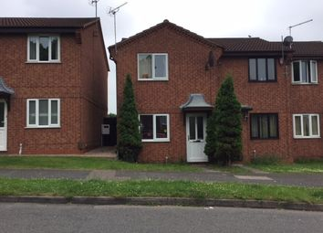 Thumbnail 2 bedroom town house to rent in Danebridge Crescent, Oakwood, Derby