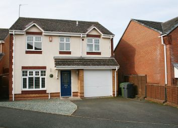 Thumbnail 4 bed detached house to rent in Padua Road, Bromsgrove