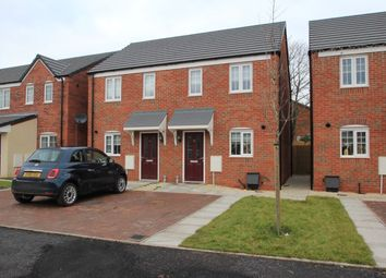 Thumbnail 2 bed semi-detached house for sale in Tempest Drive, Penkridge, Stafford