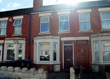 Thumbnail 2 bed terraced house for sale in Arbury Avenue, Coventry