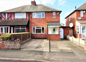 Thumbnail 3 bedroom semi-detached house for sale in Gill Street, West Bromwich