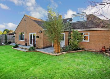Thumbnail 4 bed detached bungalow for sale in Knights Crescent, Rothley, Leicester
