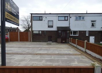 Thumbnail 3 bed end terrace house to rent in Field Road, Clock Face, St. Helens