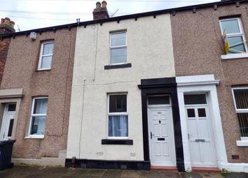 Thumbnail 3 bedroom terraced house for sale in Denton Street, Carlisle, Cumbria