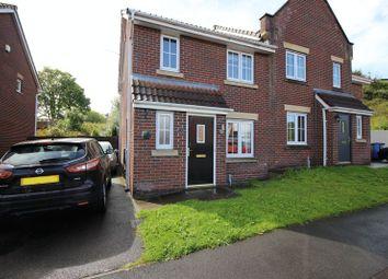 Thumbnail 3 bedroom semi-detached house for sale in Diamond Crescent, Milton, Stoke-On-Trent