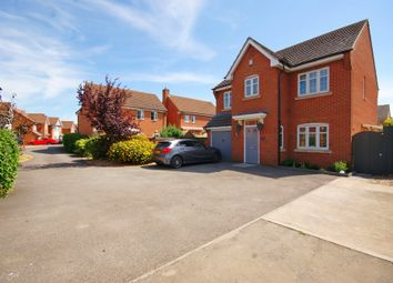 Thumbnail 4 bed detached house for sale in Winchester Court, North Hykeham, Lincoln