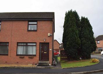 Thumbnail 2 bed semi-detached house for sale in Bullwood Drive, Crookston, Glasgow