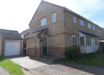 Thumbnail 3 bed semi-detached house to rent in Bushel Lane, Soham, Ely