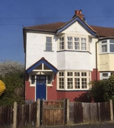 Thumbnail 3 bed semi-detached house for sale in Cobham Avenue, New Malden