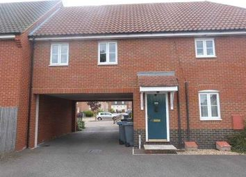 Thumbnail 1 bedroom maisonette to rent in Turing Court, Kesgrave, Ipswich