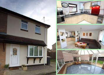 Thumbnail 1 bed terraced house for sale in Elstone, Orton Waterville, Peterborough