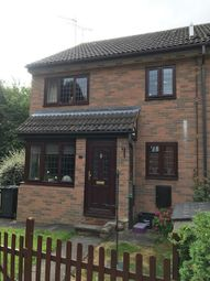 Thumbnail 1 bed terraced house to rent in Felbrigg Close, Wigmore, Luton