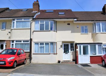 Thumbnail 4 bed terraced house for sale in Siverst Close, Northolt