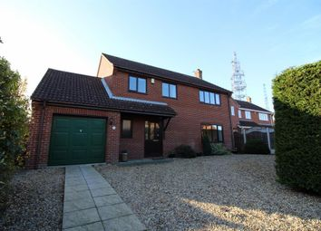 Thumbnail 4 bed detached house for sale in Boundary Way, Poringland, Norwich