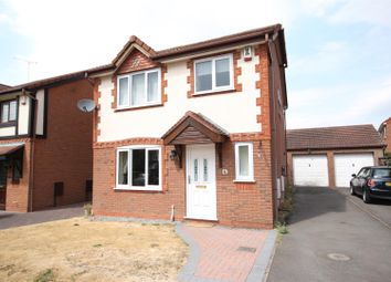 Thumbnail 3 bed detached house for sale in Churchill Drive, Hilton, Derby
